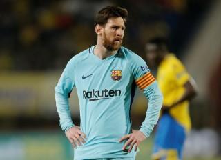Messi ghi bàn, Barca vẫn bị Las Palmas cầm chân