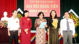 Khu phố 1, Phường 5, TP. Bến Tre: Tổ chức Đại hội đảng viên Chi bộ nhiệm kỳ 2018 - 2020