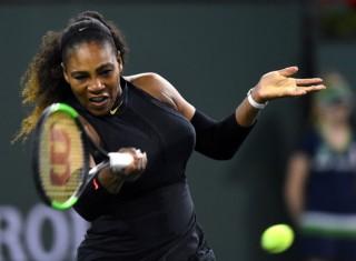 Serena trở lại ấn tượng