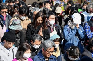 Nhật Bản tổ chức tưởng niệm 7 năm thảm họa động đất, sóng thần