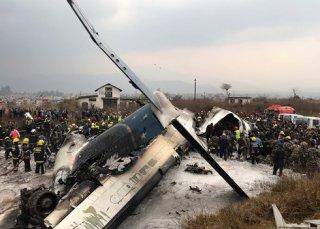 Rơi máy bay thương mại ở Nepal, it nhất 50 người thiệt mạng