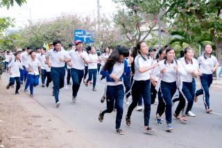 Giồng Trôm: Triển khai Ngày chạy Olympic vì sức khỏe toàn dân năm 2018