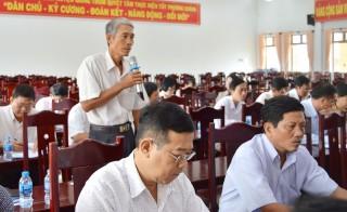 Giồng Trôm sơ kết giữa nhiệm kỳ thực hiện Nghị quyết Đại hội Đảng bộ huyện