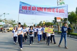Từ nay đến cuối tháng 3-2018: Hưởng ứng Ngày Chạy Olympic vì sức khỏe toàn dân