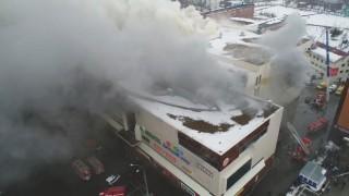 53 người chết trong vụ cháy Trung tâm thương mại ở Nga