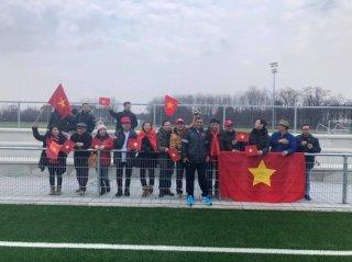 Tuyển nữ Việt Nam hòa CLB nữ Bayern Munich
