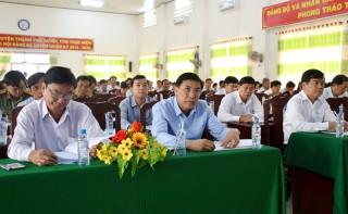 Đảng bộ huyện Thạnh Phú sơ kết giữa nhiệm kỳ 2015 - 2020