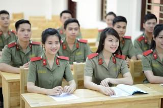 Thông báo tuyển sinh Công an nhân dân hệ chính quy năm 2018