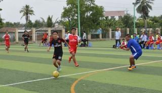 Khai mạc Giải bóng đá mini nam Đại hội Thể dục thể thao tỉnh
