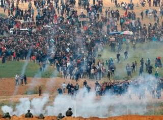 Biểu tình ở Dải Gaza: 7 người thiệt mạng, hơn 500 người bị thương