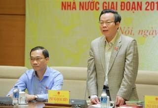 Đoàn giám sát Quốc hội làm việc với Chính phủ về quản lý vốn