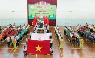 Khai mạc Đại hội Thể dục thể thao công chức, viên chức, lao động tỉnh lần thứ VIII năm 2018