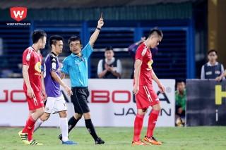 Trung vệ Nguyễn Tăng Tiến: Bị phạt cấm thi đấu 5 trận cùng số tiền 25 triệu đồng