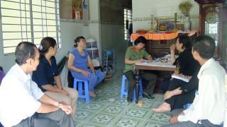 Hội Liên hiệp Phụ nữ tỉnh: Giám sát việc thực hiện pháp luật về phòng, chống bạo lực gia đình tại xã Phú Nhuận, TP. Bến Tre.