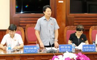 Ủy ban Tài chính - Ngân sách của Quốc hội: Đánh giá cao công tác quản lý ngân sách nhà nước của tỉnh