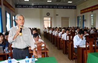 Đại biểu Quốc hội tỉnh tiếp xúc cử tri xã Sơn Đông, TP. Bến Tre