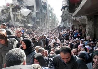 Quân đội Syria đạt thỏa thuận sơ tán trại tị nạn Yarmouk