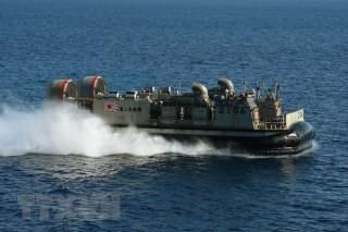 Nhật Bản và Anh lần đầu tập trận hải quân chung tại vùng Vịnh Kanto