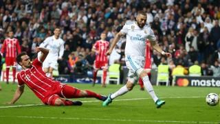 Cầm chân Bayern, Real vào chung kết Champions League
