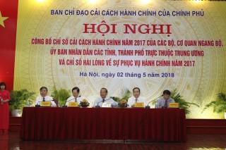 Chỉ số cải cách hành chính năm 2017: Ngân hàng Nhà nước và tỉnh Quảng Ninh dẫn đầu
