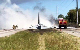 Tai nạn máy bay quân sự Mỹ, ít nhất 5 người thiệt mạng