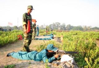 Ban Chỉ huy Quân sự huyện Mỏ Cày Bắc: Giữ vững ngọn cờ thi đua Quyết thắng