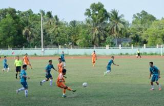 Đại hội Thể dục thể thao tỉnh: Thi đấu vòng bảng giai đoạn 2 môn bóng đá nam