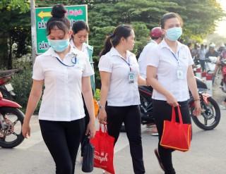 Quan tâm chăm sóc sức khỏe sinh sản cho nữ công nhân