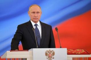 Ông Vladimir Putin nhậm chức Tổng thống Nga nhiệm kỳ thứ 4