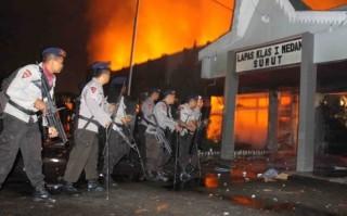 Bạo động tại nhà tù Indonesia làm 5 sĩ quan an ninh thiệt mạng