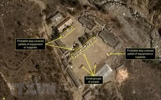Triều Tiên tuyên bố triển khai đóng cửa khu vực thử hạt nhân