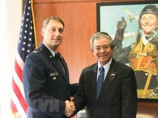 Khả năng hợp tác Việt - Mỹ trong đào tạo năng lực an ninh quốc phòng