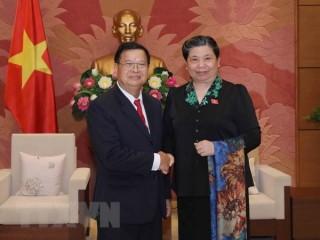 Việt Nam tăng cường trao đổi kinh nghiệm lập pháp với Lào