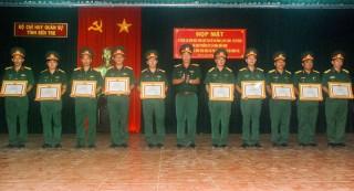 Đảng ủy Quân sự tỉnh sơ kết 2 năm thực hiện Chỉ thị 05