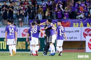 Hà Nội FC bứt phá mạnh mẽ