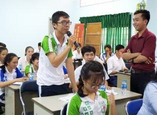 Tọa đàm trải nghiệm khởi nghiệp đổi mới sáng tạo trong trường học