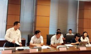 Đại biểu Quốc hội đơn vị tỉnh Bến Tre góp ý dự án Luật Cảnh sát biển Việt Nam và Luật Đặc xá (sửa đổi)