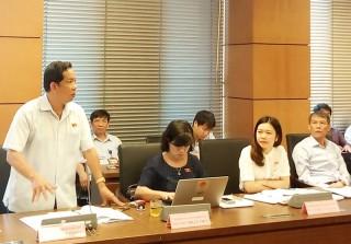Đại biểu Quốc hội tỉnh Bến Tre góp ý dự thảo Luật Phòng chống tham nhũng (sửa đổi)