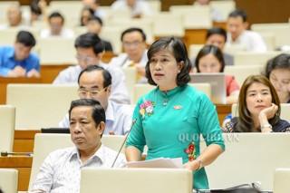 Đại biểu Quốc hội tỉnh Bến Tre góp ý dự thảo Luật Đo đạc và Bản đồ