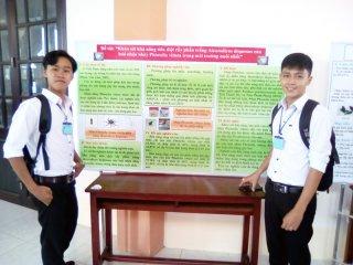 Học sinh tiêu biểu trong sáng tạo khoa học kỹ thuật