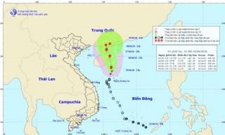 Bão số 2 giật cấp 10 trên biển Đông, gây mưa dông trên đất liền