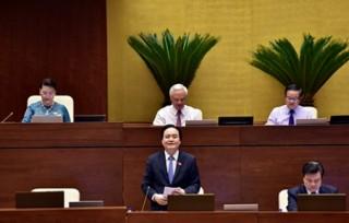 Bộ trưởng Bộ Giáo dục và Đào tạo Phùng Xuân Nhạ trả lời chất vấn