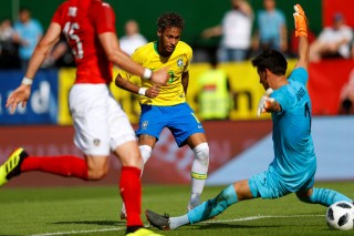 Brazil thắng đậm Áo trước thềm World Cup 2018