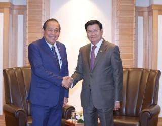 Phó thủ tướng tiếp xúc lãnh đạo các nước dự Hội nghị Tương lai châu Á