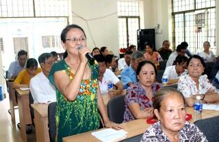 Đại biểu HĐND tỉnh ghi nhận ý kiến xác đáng của cử tri