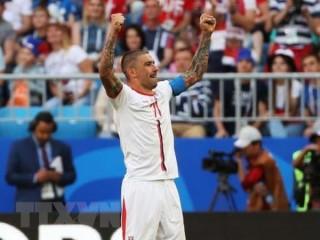 """World Cup 2018: Aleksandar Kolarov """"bắn nát"""" hy vọng của Costa Rica"""