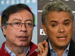 Các điểm bỏ phiếu ở Colombia bắt đầu cuộc bầu cử tổng thống vòng 2
