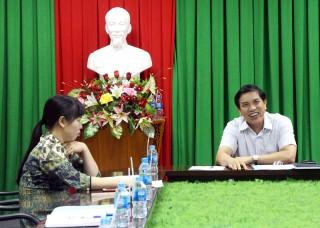 Họp Hội đồng thi tuyển chức danh Phó giám đốc Sở Tài chính