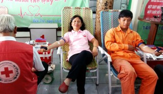 Hưởng ứng ngày thế giới tôn vinh người hiến máu 14-6