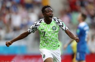 Nigeria đánh bại Iceland, cục diện bảng D đang rất khó lường